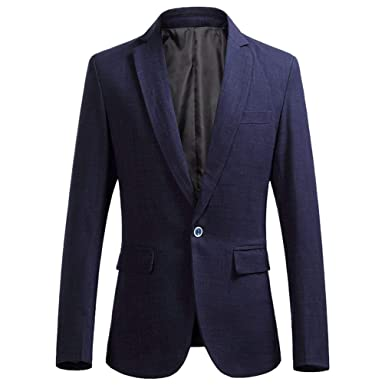 Laisla fashion Herren Business Jacke EIN Knopf Smart Mode