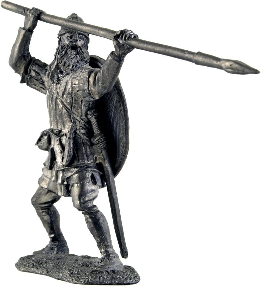 A284 Tin Army Greek peltast Tin Toy Soldiers Metal Sculpture Miniature Figure Collection 54mm scale 1//32