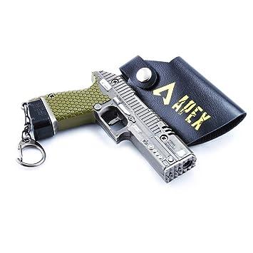 HHJBB Apex Legends Juego 1/6 P2020 Pistola Metal Llavero ...