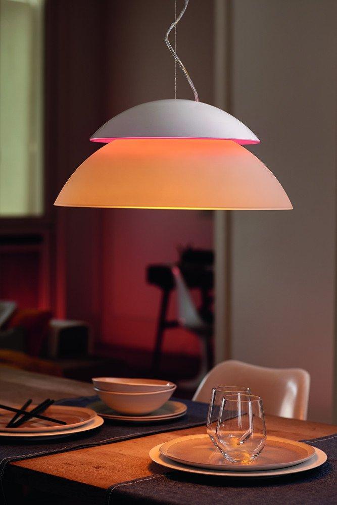 Amazon.com: Lámpara Phillips blanca, modelo Hue ...