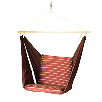 Slack Jack Butterfly Fabric Swing (Maroon, Brown and Green)