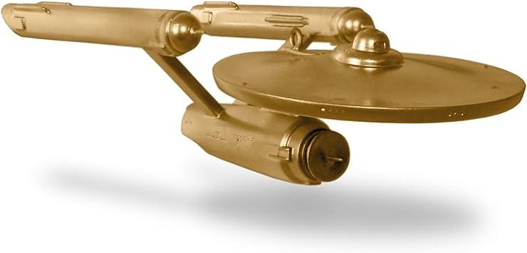 Hallmark 2016 Star Trek  USS Enterprise MAGIC SOUND 50th Gold EDITION NEW