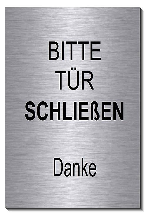 Cartel para puerta con símbolo de cierre, 150 x 100 x 3 mm ...