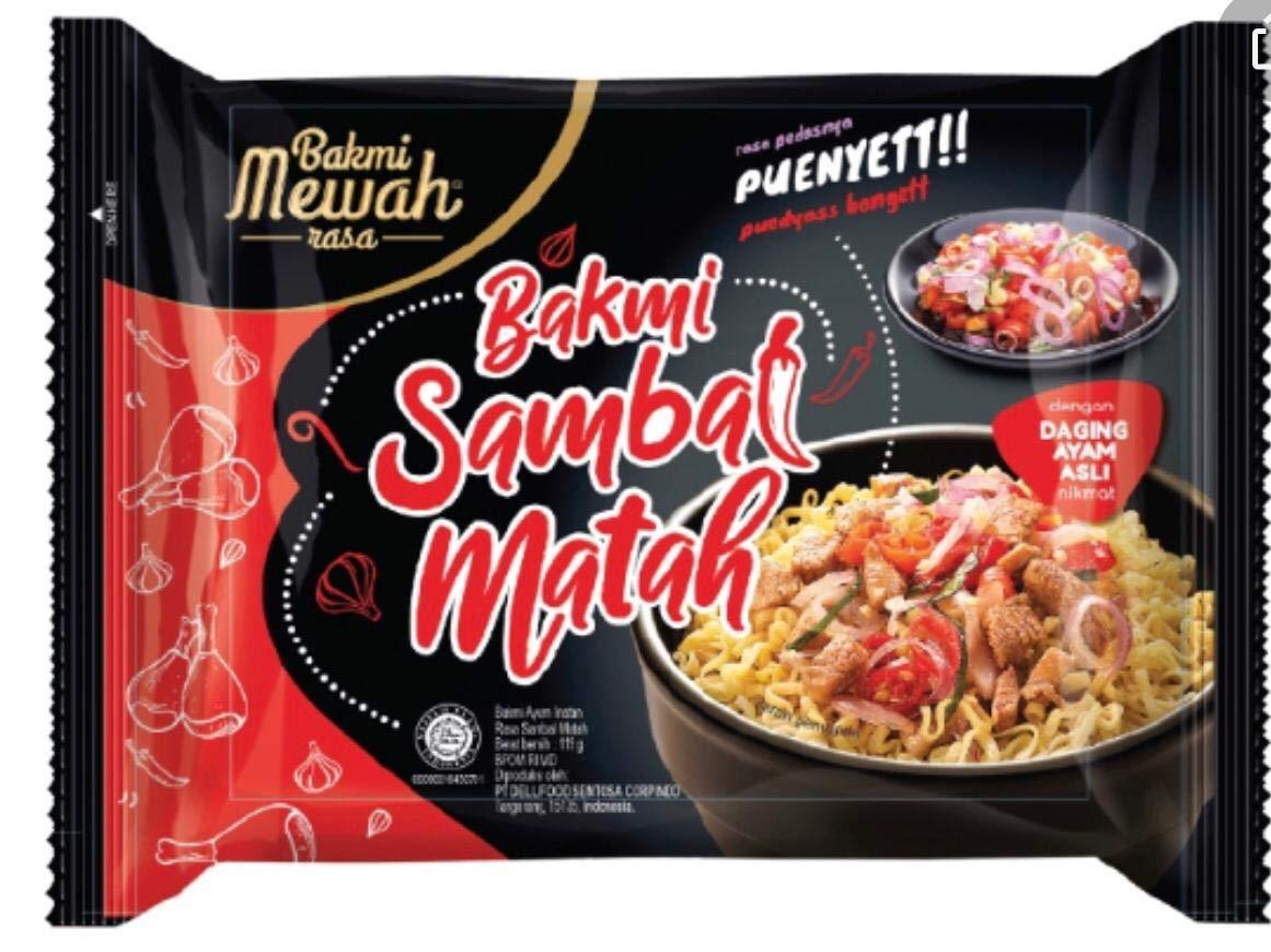 Bakmi Mewah Bakmi Sambal Matah (Daging Ayam Asli) - (Pack of 5)