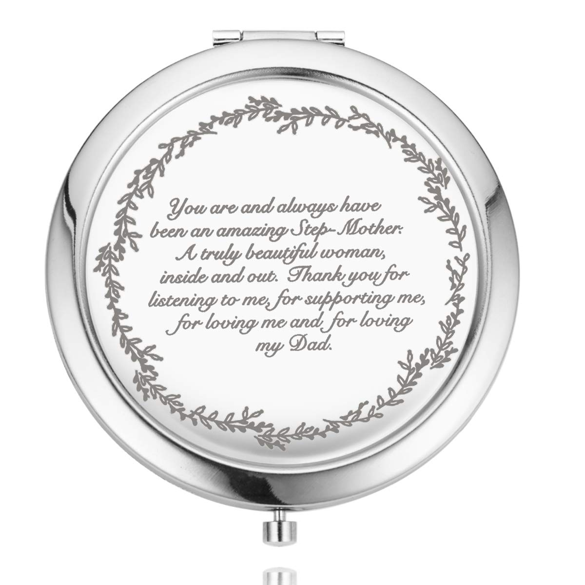 Amazon Com Uoipengyi Mom Gifts From Daughter And Son Unique Birthday Gifts For Women Mother Grandma Sister Aunt Gift Ideas For Christmas Pocket Makeup Mirror To My Step Mother Furniture Decor