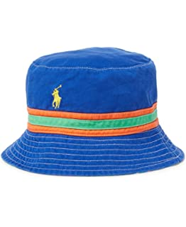 690a7e15 Polo Ralph Lauren Boy's Patchwork Cotton Bucket Hat age 4 - 7 ...