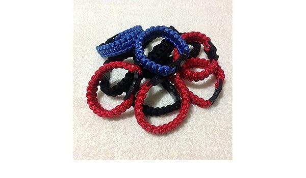 Amazon.com: Parastrap Survival Bracelet 9 Military Grade Nylon Paracord 550: Sports & Outdoors
