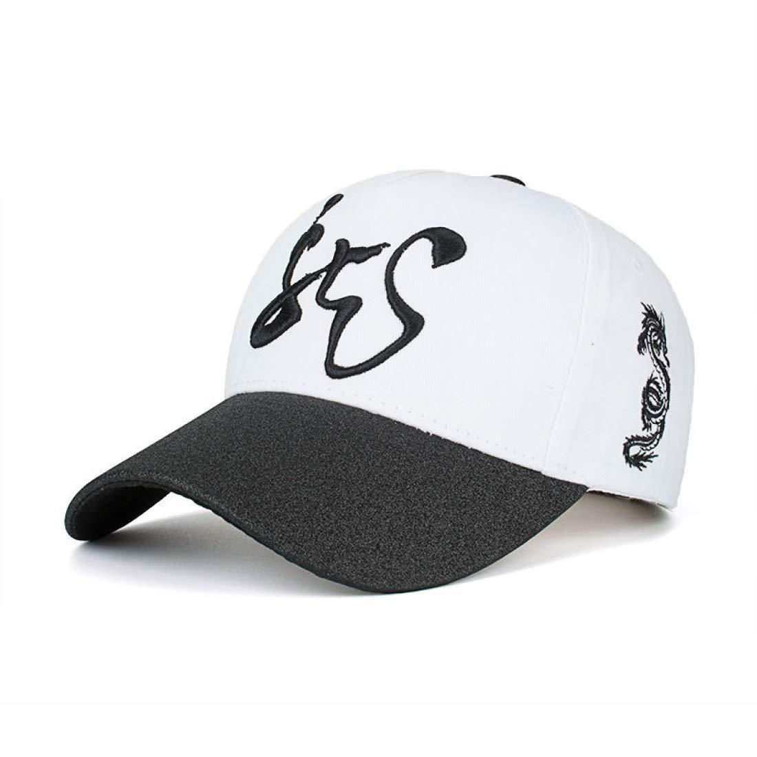 Sun Cap New Cotton Dragon-Shaped Neutral Baseball Cap Outdoor Sunshade Cap B456 Hat Duck Tongue Cap