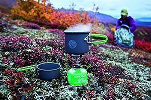 Optimus Crux Lite - Hornillo de Gas con Accesorio para cocinar ...