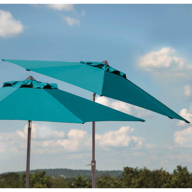 Amazon Sunbrella 10 Ft Patio Market Umbrella With Auto Tilt