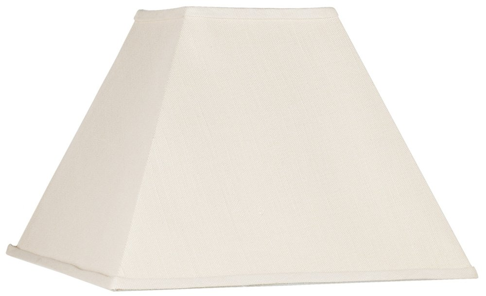 Beige Linen Square Lamp Shade 7x17x13 (Spider)