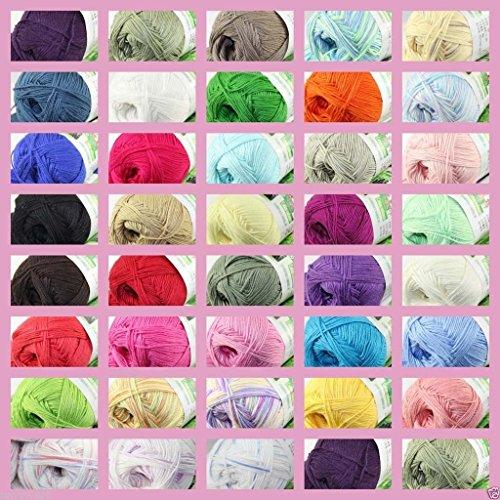 sale-new-1-skein-x-50g-super-soft-bamboo-cotton-baby-hand-knitting-crochet-yarn-1-piece-1-price