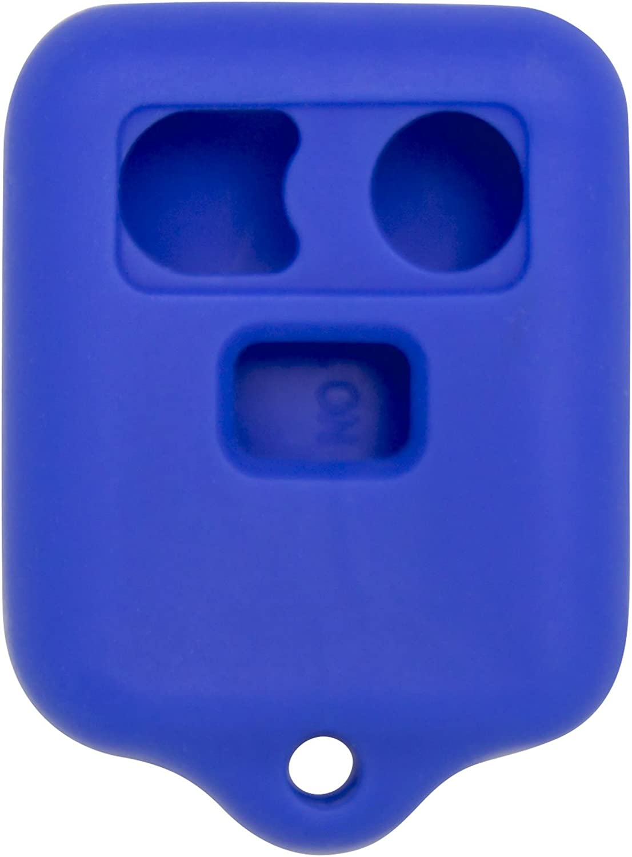 Keyless2Go New Silicone Cover Protective Case for Remote Key Fobs FCC CWTWB1U345 CWTWB1U331 GQ43VT11T Pink