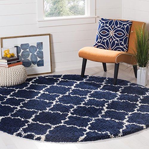 7 feet round area rug - 4