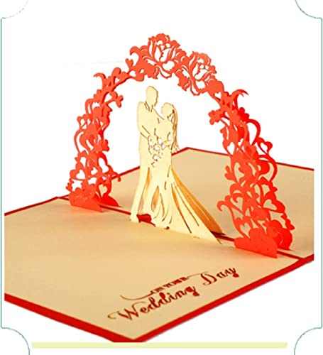 BC Worldwide Ltd handmade 3D pop up popup card wedding gift anniversary big day party invitation engagement hen party marriage proposal Valentines card her