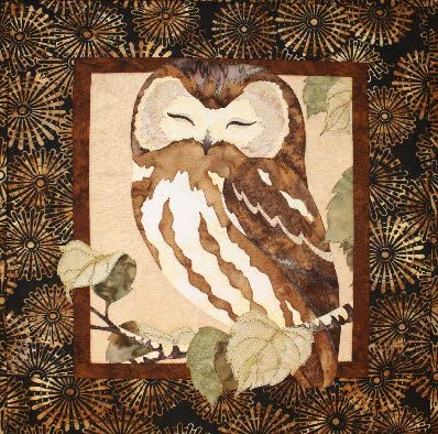 Whoos The Cutest Owl Toni Whitney Designs Applique Quilt Pattern