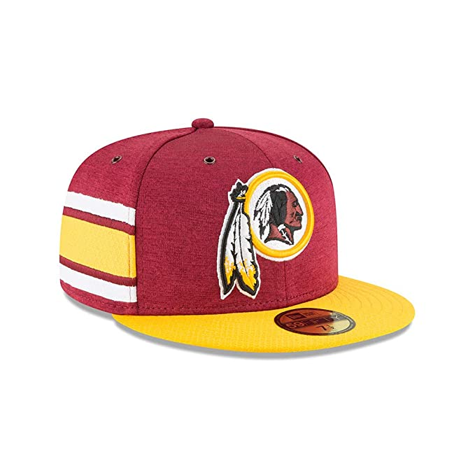 A NEW ERA Gorra NFL Sideline 59Fifty Home Washington Redskins Official Team Colour