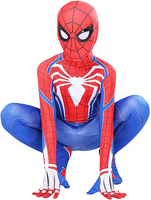 ZXDFG Disfraz Spiderman Niño Adulto,Disfraz Halloween Carnaval ...