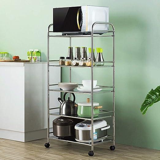 ZYL Carrito Cocina Estante de Cocina Rejilla de Horno de ...