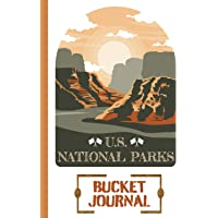 Image for U.S. NATIONAL PARKS BUCKET JOURNAL: Record All Your Visits || National Parks Passport Book and Memory Journal