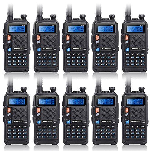 Baofeng New Version UV-5X Dual Band UHF VHF Radio Transce...