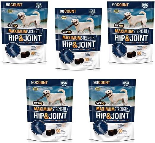 VetIQ Hip & Joint Chews Dogs, 180 ct.