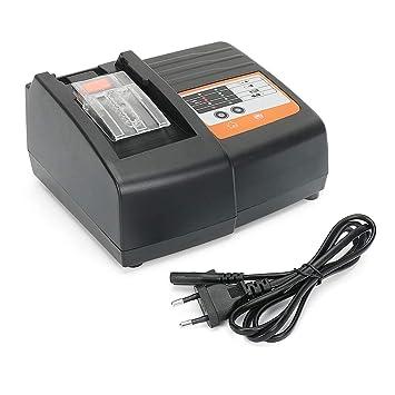 REEXBON Cargador de batería de repuesto para Makita DC18RC Push-Pull de 14.4 a 18 voltios BL1845 BL1840 BL1835 BL1815 BL1450 BL1430 BL1430 194204-5 ...