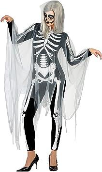 Atosa 17846 Disfraz esqueleto adulto XS-S, talla mujer: Amazon.es ...