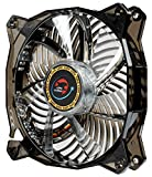 Lepa Casino 1 Color 120mm LED Cooling Case Fan, Black/Blue LPVC1C12P