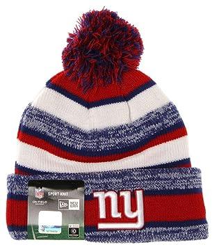 New Era NFL Custom Sport Knit Beanie - New York Giants  Amazon.co.uk   Sports   Outdoors f24d18257f0