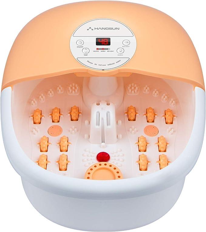 Hangsun Foot Spa Bath Massager - Innovative All-Encompassing Foot Spa
