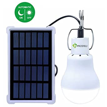 Prodeli solar lights led bulb light outdoor lighting solar energy prodeli solar lights led bulb light outdoor lighting solar energy lamp camp tent fishing hiking lamp mozeypictures Image collections