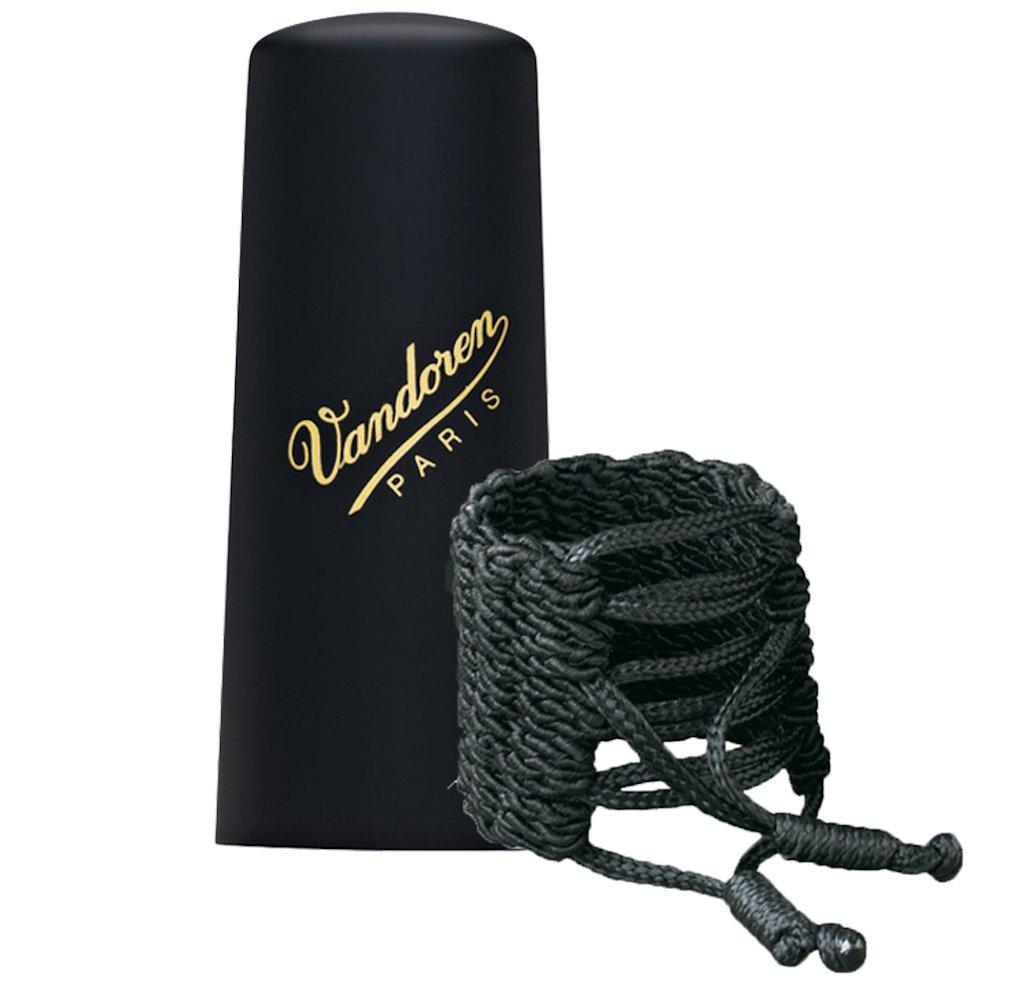 Vandoren LC36P Klassik Ligature and Plastic Cap for Soprano Saxophone