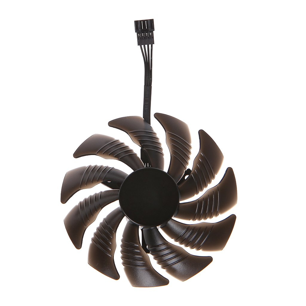 RingBuu T129215SU 88mm Graphics Card Cooling Fan For Nvidia Gigabyte GTX Aorus-Clockwise by RingBuu (Image #3)