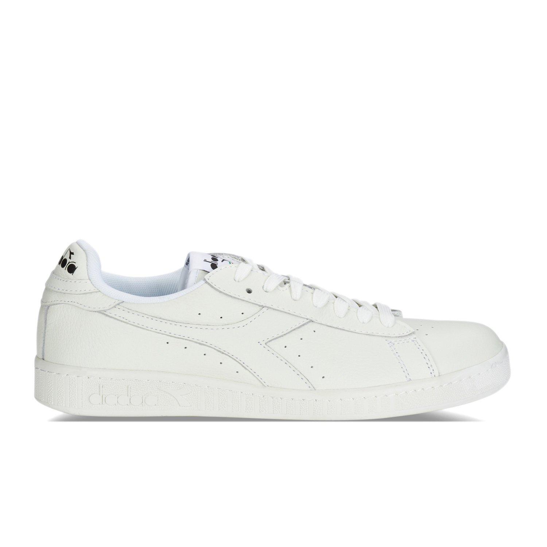 Blanc Cassé (Bianco Bianco noir) Diadora Game L Low, Chaussures de Gymnastique Homme 42 EU