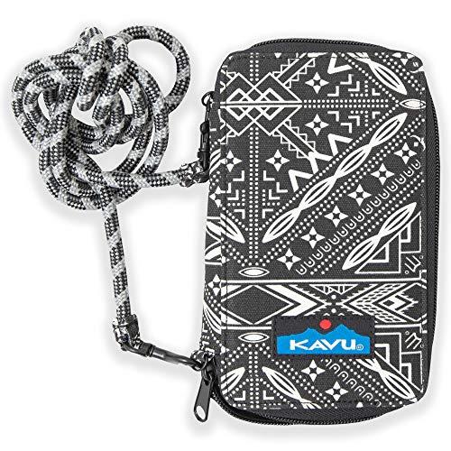 KAVU Women's Go Time Bi-Fold Crossbody Wallet, Lucky Bandana, One ()