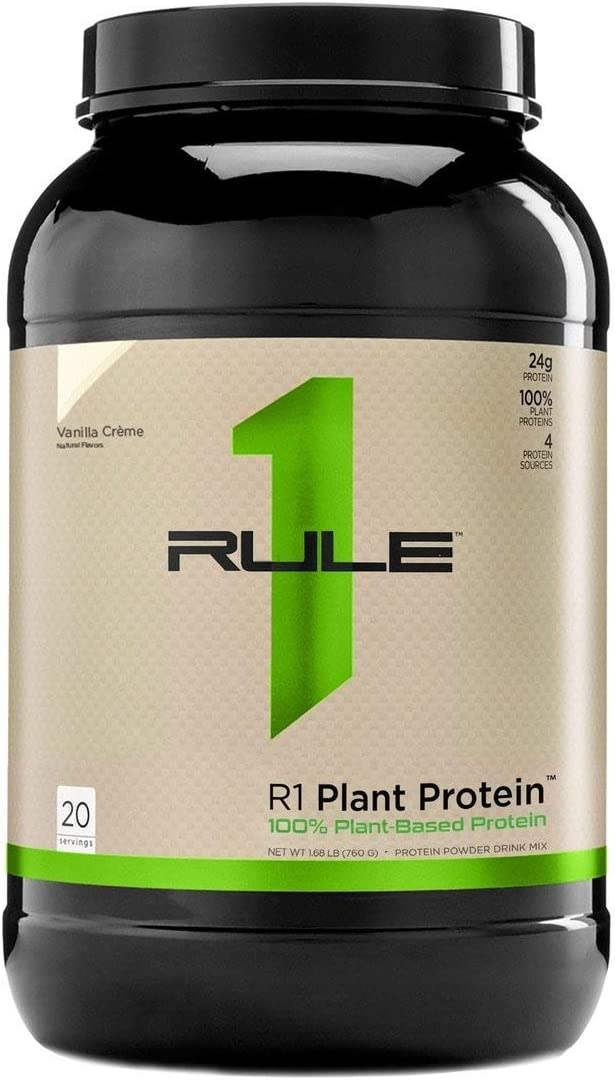Rule One Proteins Plant Protein, Vanilla Creme, 1.68 Pound