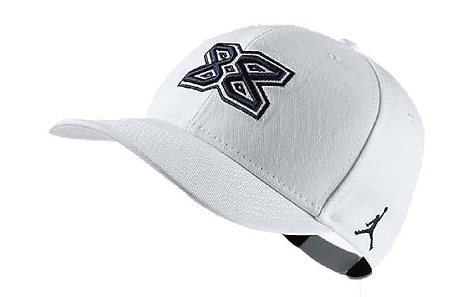 Nike Air Jordan Retro 4 Gorra - 921347 100, Blanco: Amazon.es: Deportes y aire libre