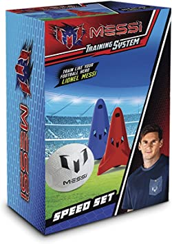 Messi Training System - Speed Set de 2 Conos y 1 balón (Giochi ...