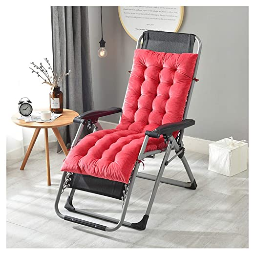GELing Tumbona sillón reclinable Lounge de Almohadilla cojín ...