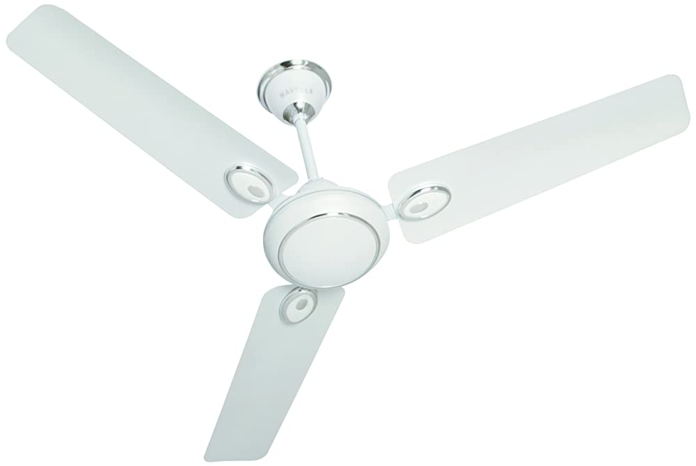Havells Fusion 1050mm Ceiling Fan (Pearl White and Silver)