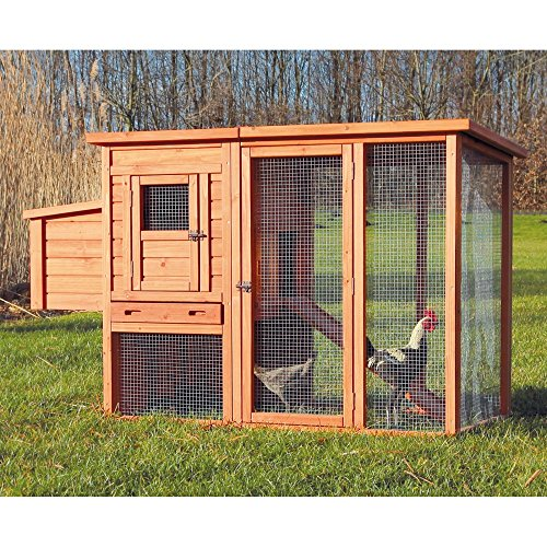 TRIXIE-Chicken-Coop-with-Outdoor-Run