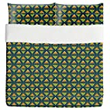 Tribal Arrows Duvet Bed Set 3 Piece Set Duvet Cover - 2 Pillow Shams - Luxury Microfiber, Soft, Breathable