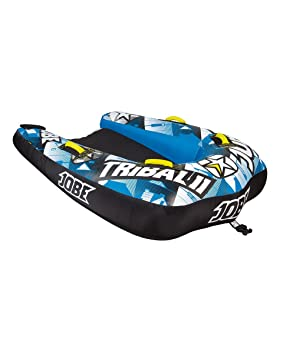Jobe Tribal II 2P - Flotador de Arrastre, Color Amarillo: Amazon.es: Deportes y aire libre