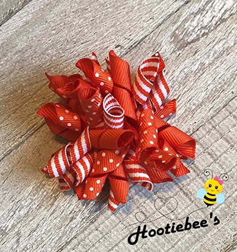 Orange Korker Hair Bow]()