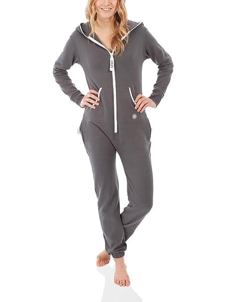 Zipups Mono-Pijama Clean Cut Gris S