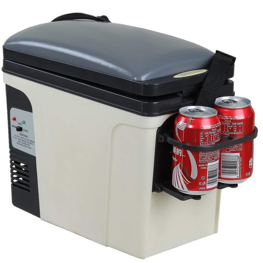 B06Y2MC872 SMETA 12V Thermoelectric RV Car Cooler Warmer Portable Mini Truck Refrigerator 110V Office Home Food Heater Beverage Cooler Fridge,6L 513Hd3tIuyL._SL1001_