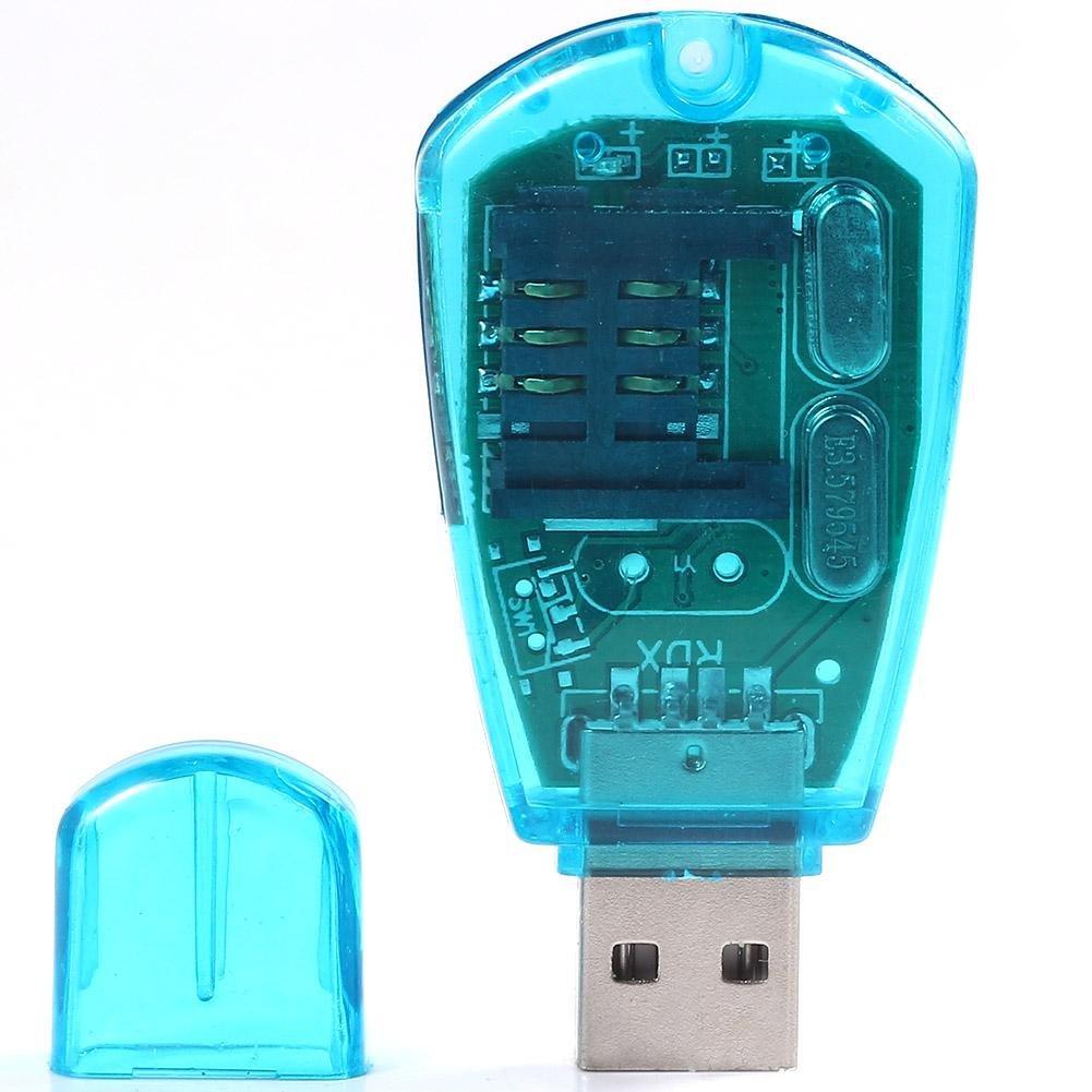 Teléfono USB lector de tarjeta SIM lector de tarjeta de ...