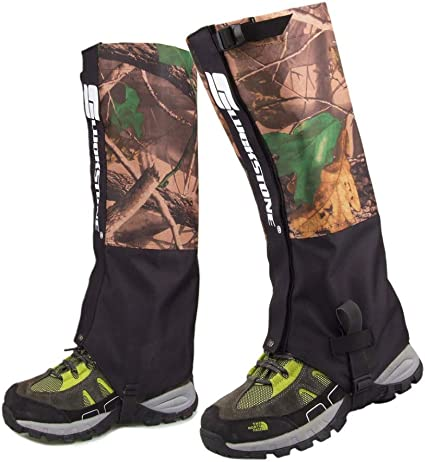 Waterproof Snow Legging Gaiters for Trekking Walking Climbing Hunting Hiking BE