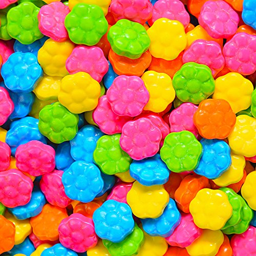 Flower Power Candy Coated Flowers , (2.5 lb - Candy Pretty